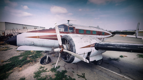 Beech 18 at Chino
