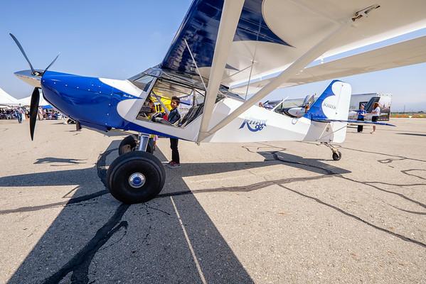 Kitfox at AOPA Regional Fly-in Chino, CA - 21SEP2014