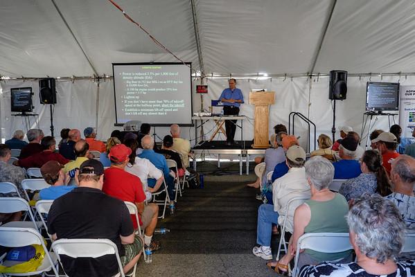 John Kounis at AOPA Regional Fly-in Chino, CA - 21SEP2014