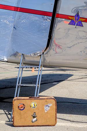 Lockheed 12 Electra Junior at AOPA Regional Fly-in Chino