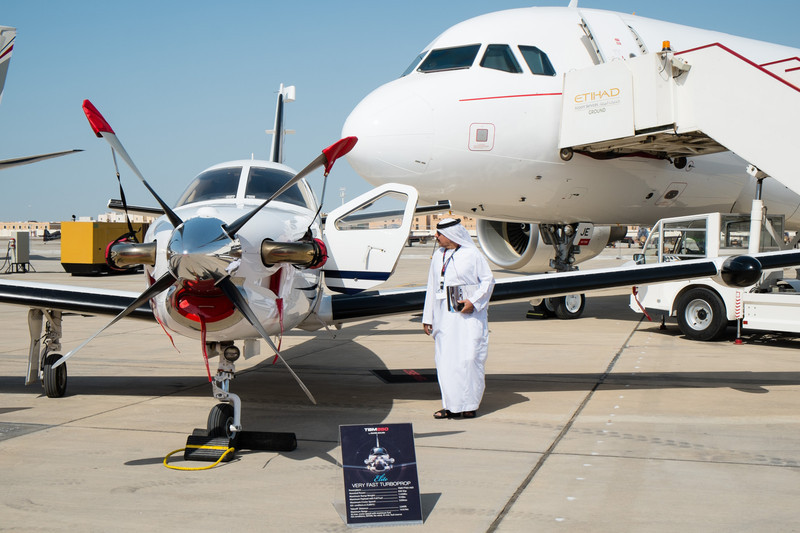 Interested in a TBM850 at Abu Dhabi Aviation Expo 2014
