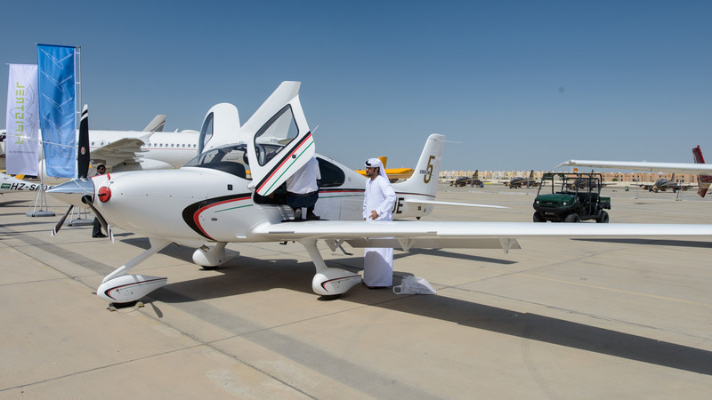 Cirrus at Abu Dhabi Aviation Expo 2014