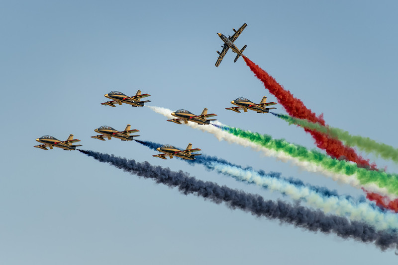 2014 Pic(k) of the week 9: Flying the UAE flag - Al Fursan