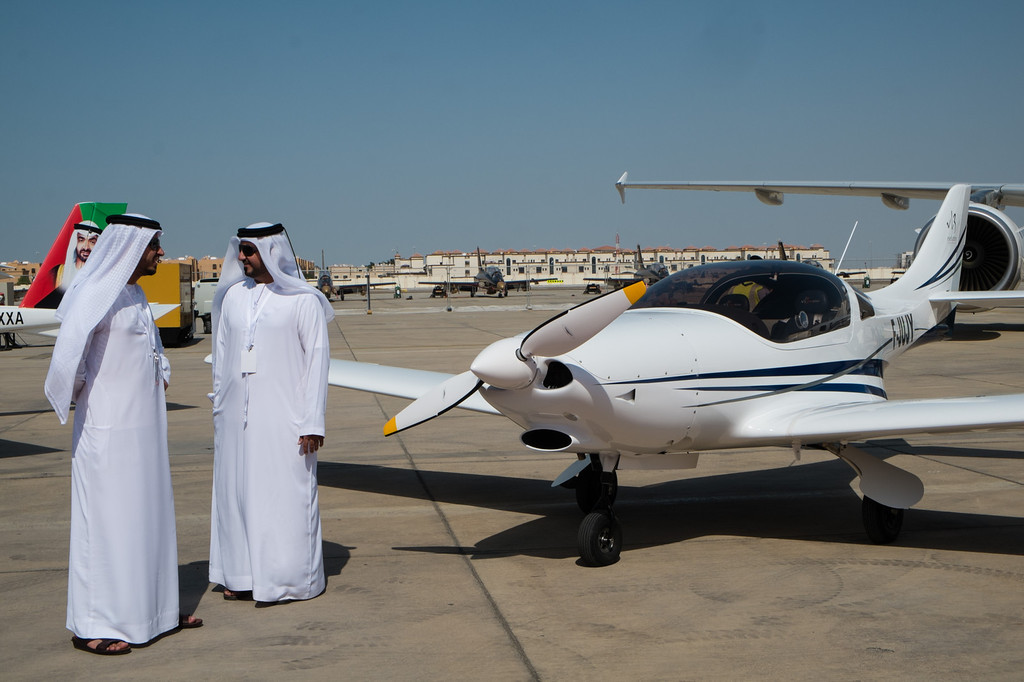 Czeck made VL3 at Abu Dhabi Aviation Expo 2014