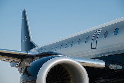 Embraer 190 Lineage 1000 at Abu Dhabi Aviation Expo 2014
