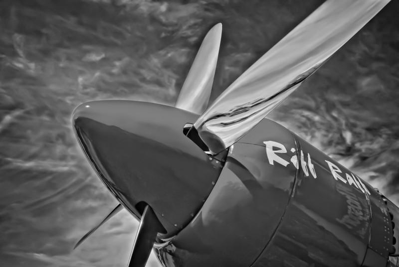 Sea-Fury at Air Venture 2008, WI, USA
