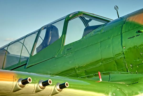 Curtiss P-40 Warhawk at Airventure 2008, WI, USA