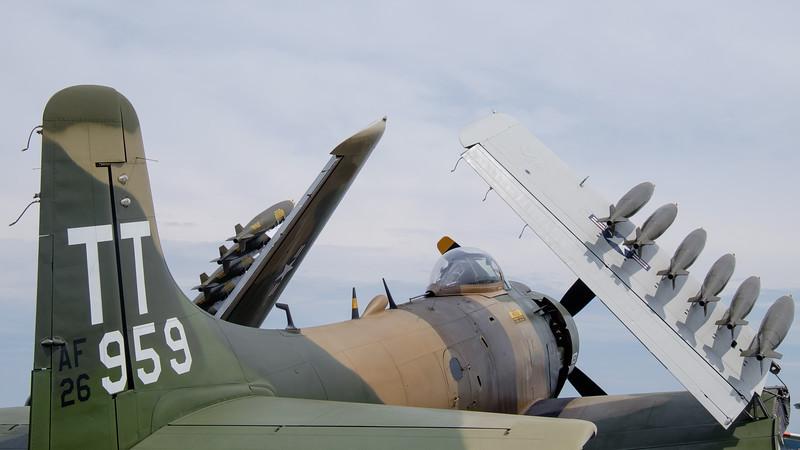 A4-D Skyraider