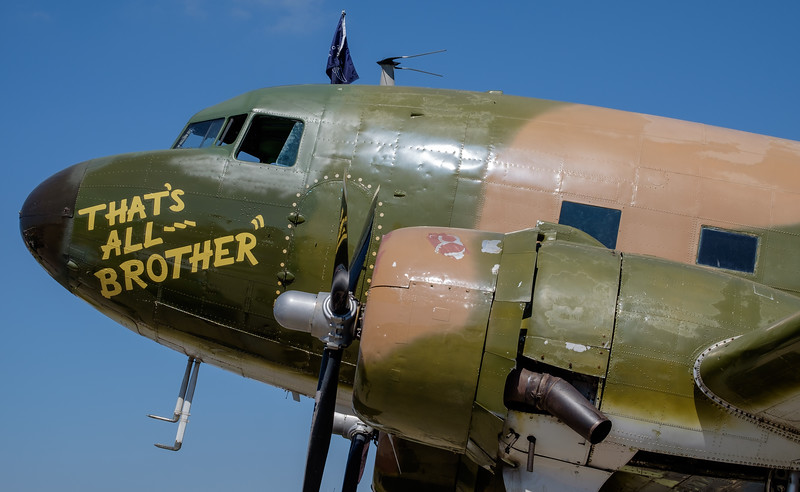 That's all brother, lead C-47 for D-Day