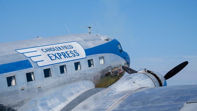 Chandler Field Express DC-3