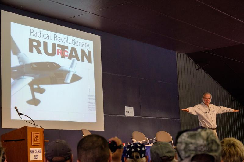 Burt Rutan talks