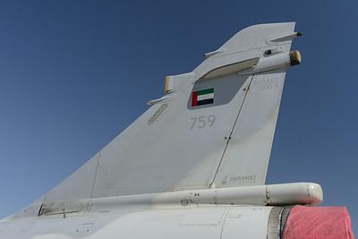 Mirage 2000-9 tail