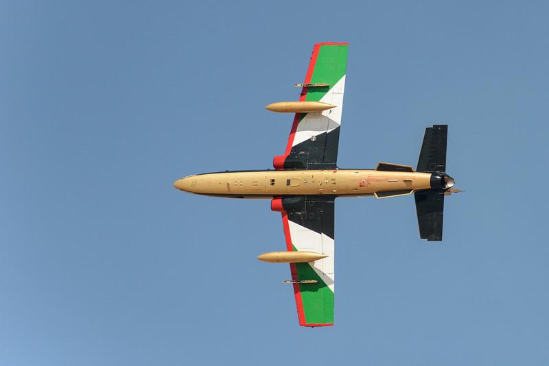 Al Fursan UAE Jet team Solo