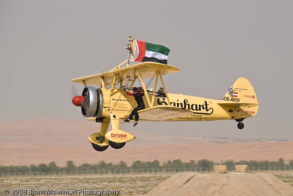 Stearman wingwalker