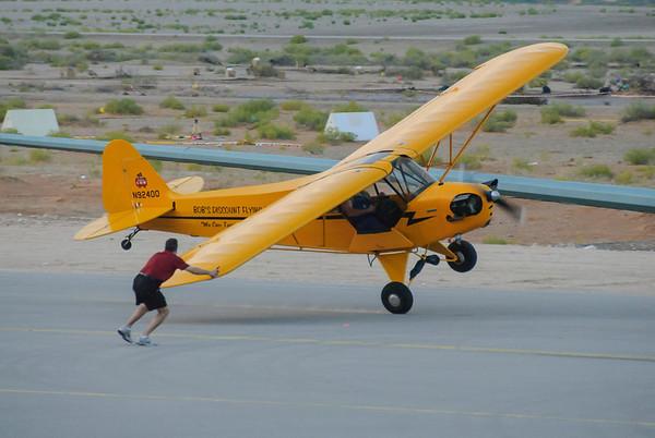 Bob Discount Flying Piper Cub J-3