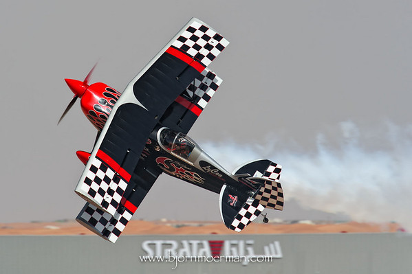 Skip Stewart Team flying Prometheus a highly modified Pitts Special S2-S