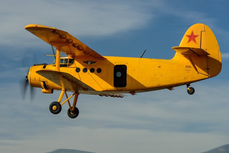 Antonov AN-2 low pass