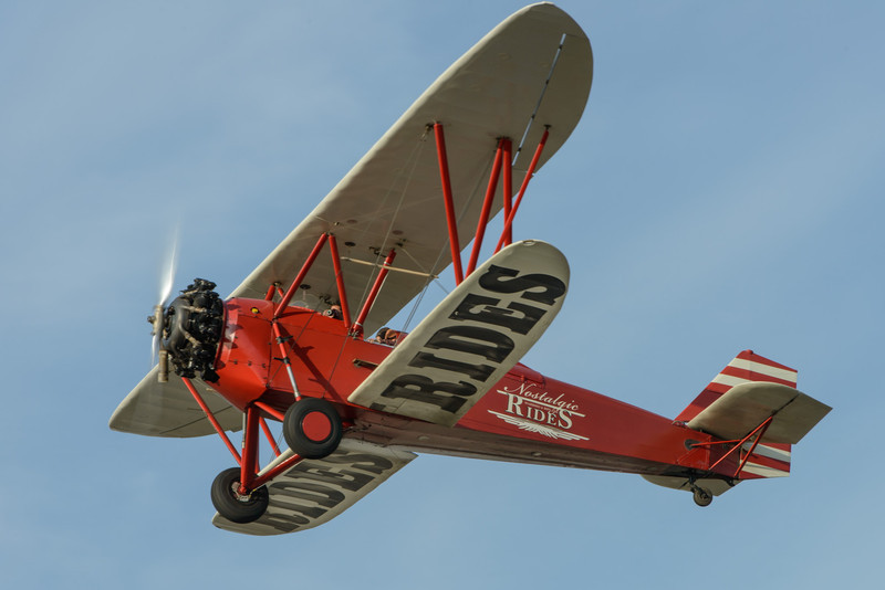 Nostalgic Rides 1930 New Standard D-25 Biplane