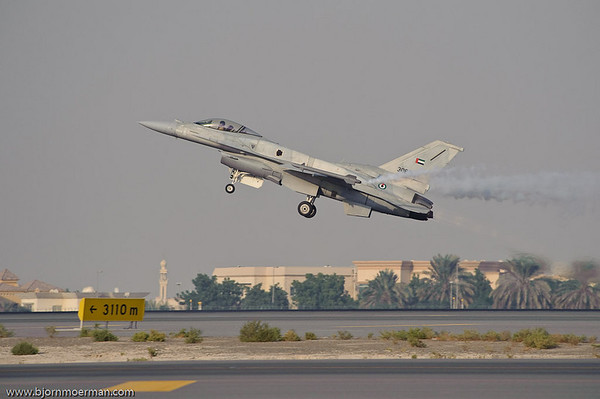 UAE airforce F16