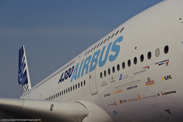 Airbus factory A380 Demo