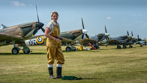 Spitfire flightline