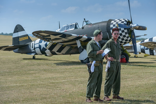 Preparing the P-47 Thunderbolt