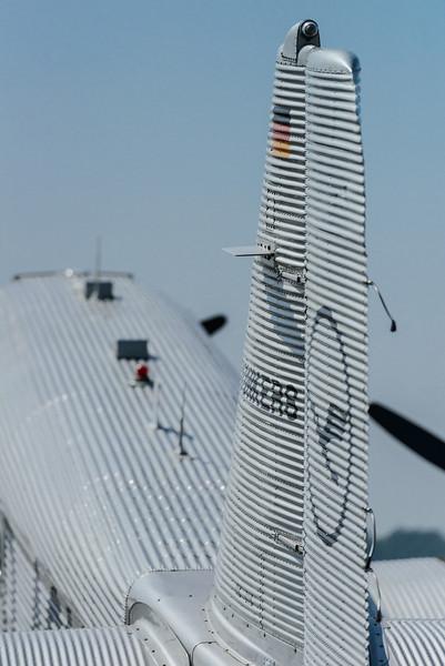 Junckers JU-52 tail