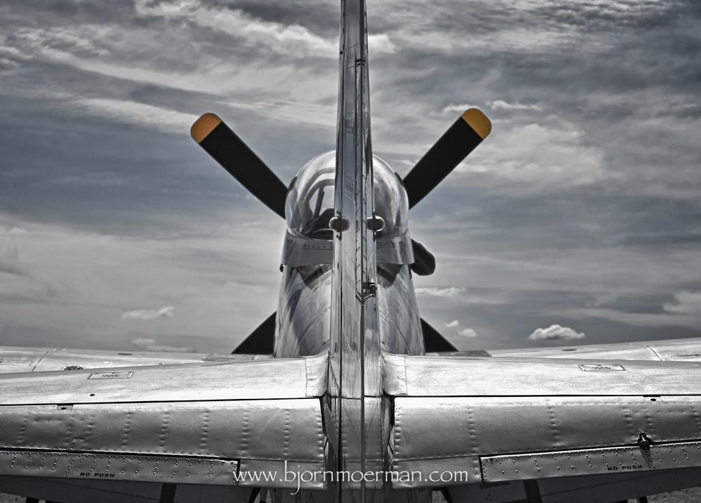 P-51 Mustang, La Ferte Alais, France