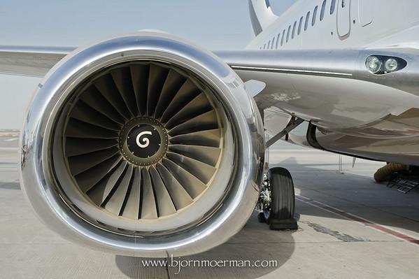 Boeing BBJ CFM 56 engine