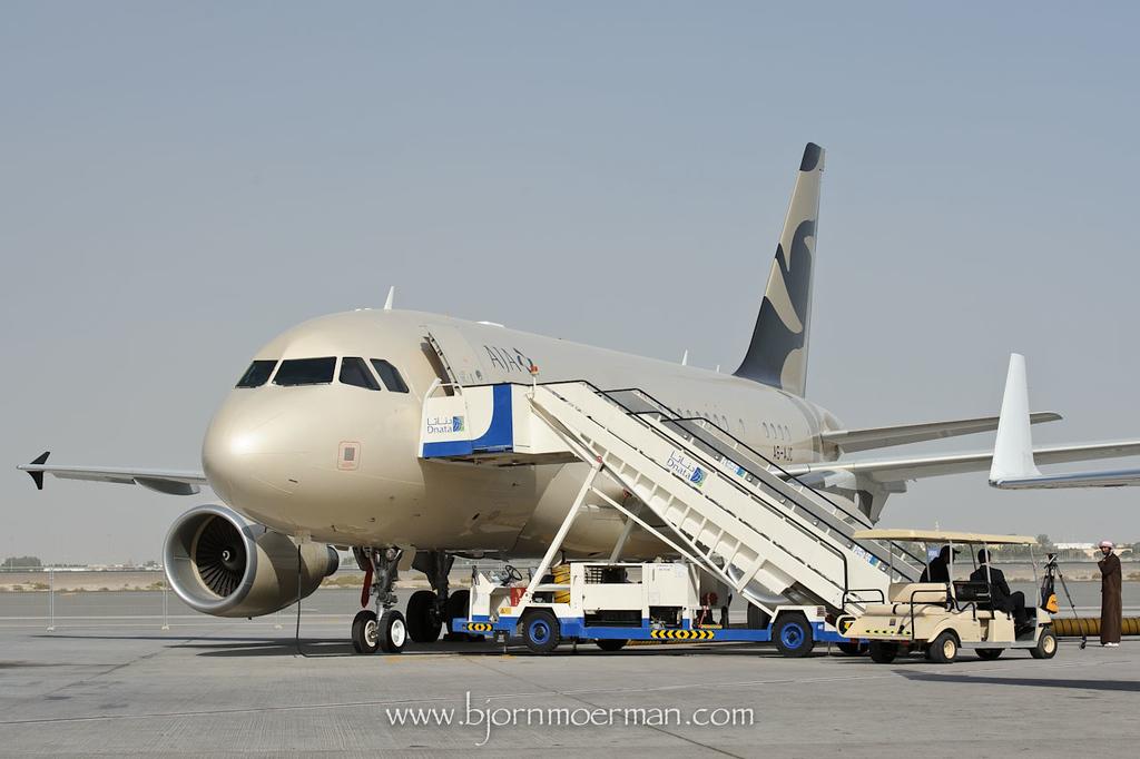 Al Jaber Aviation A318 Elite