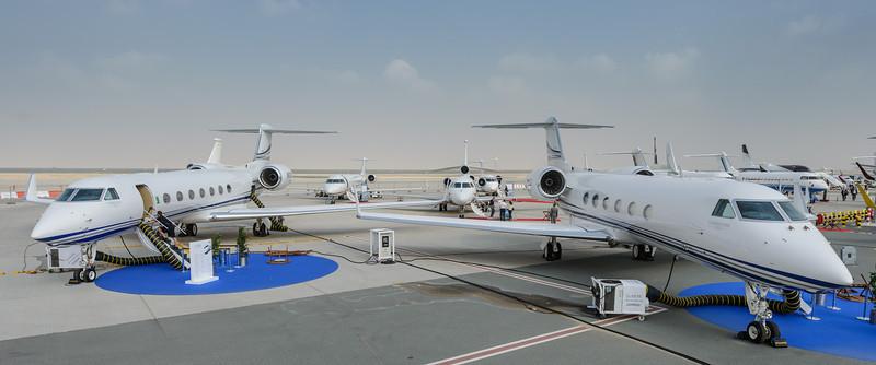 Gulfstream duo