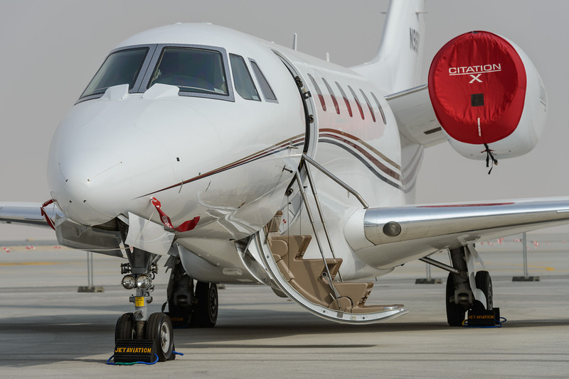 Cessna Citation X, one of the fastests business jets