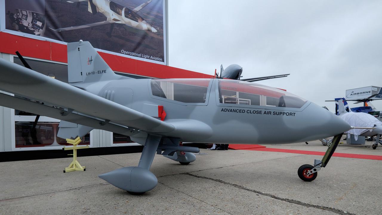 LH-10 Close Air Support aircraft