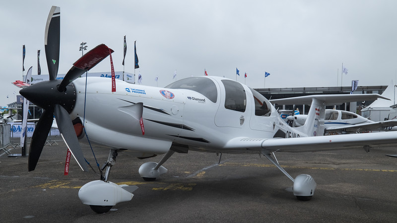 Turbine powered Diamond DA50