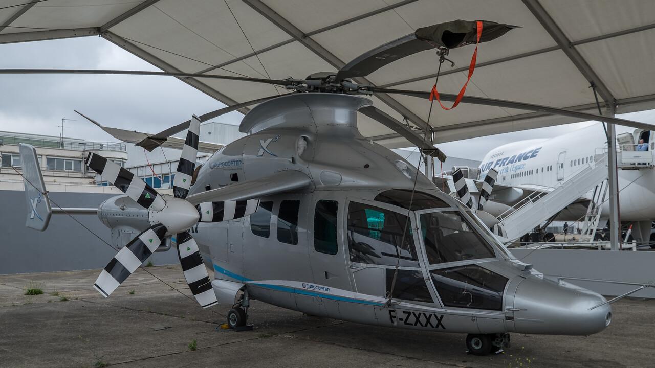 Eurocopter X-3 prototype - speed record 2013