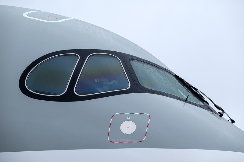 Airbus A350 nose section