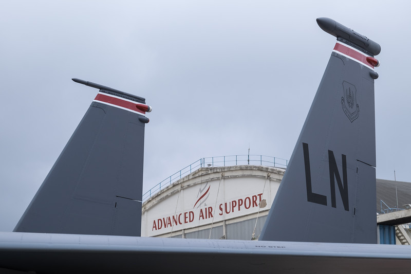 F-15 Eagle tail section
