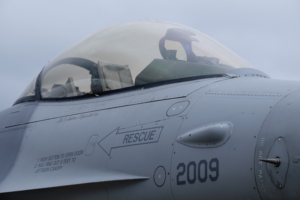 F-16 nose section