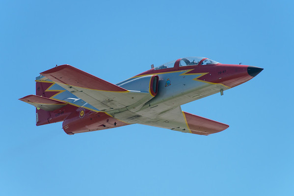 Patrulla Águila Casa 101 take-off