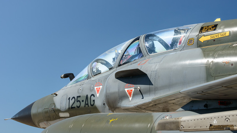 Mirage 2000 nose section