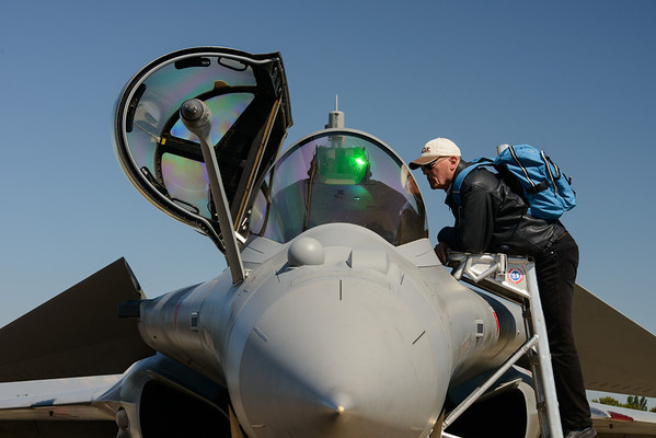 Old meets new, Dassault Rafale