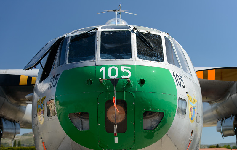 Noratlas nose section