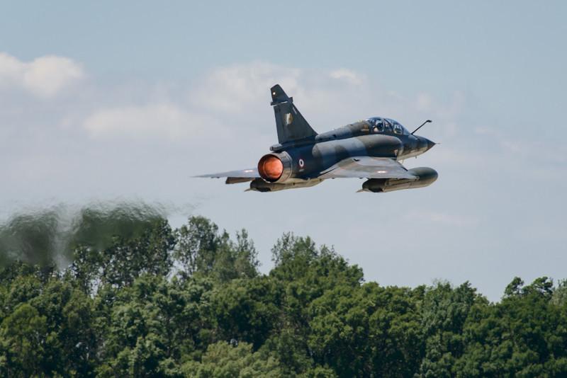 Mirage 2000 Full afterburner take-off