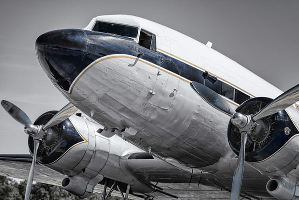 Breitling DC-3 at the Photoflying days at Zoersel