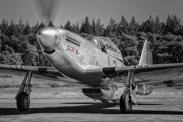 P-51 Mustang at the PhotoFlying days, Zoersel