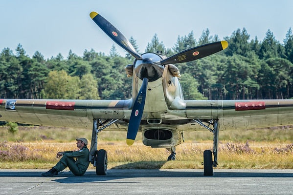 Hawker Hurricane at the 2012 Zoersel PhotoFlying days