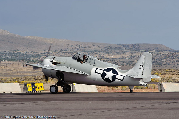 Hellcat taxiing out