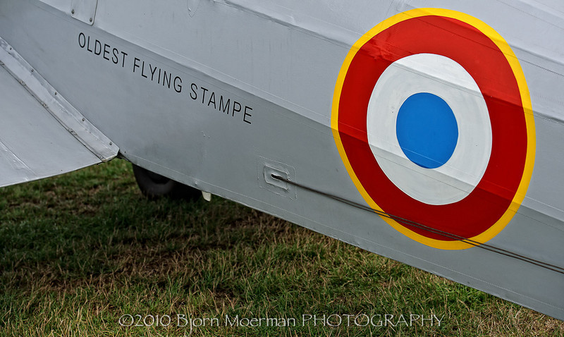 Oldest flying Stampe SV4