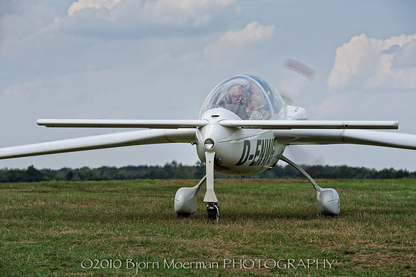 Speed Canard taxing in