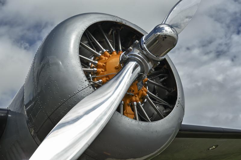 Lockheed 12 used in the movie Amelia, at Sun 'n Fun 2011